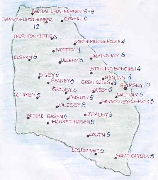 Map of Northern Branch